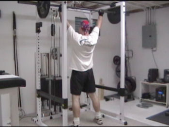 Barbell Hang Clean and Press For Explosive Shoulders and Traps