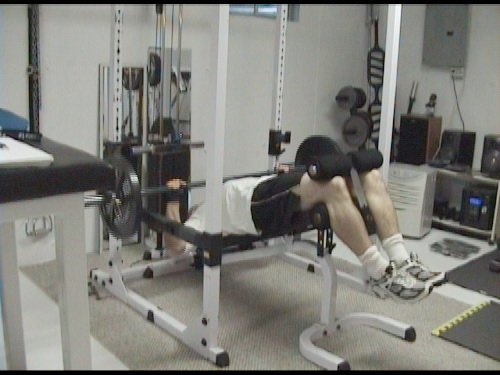 No-Rest Lactic Acid Superset for Fat Loss - Decline Barbell Bench and Close Grip Bent-Over Rows