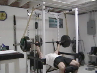 Pleasant Reverse Band Bench Press For Increasing Bench Press Lockout Ibusinesslaw Wood Chair Design Ideas Ibusinesslaworg