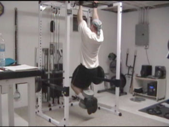 Weighted Chin-Up Drop Set For Increasing Intensity in Your Back Training